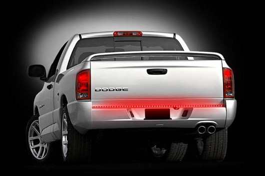 "Universal Red LED Tailgate Bar 60"" Fits most full-sized trucks and SUVs"