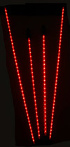 Flexible Red LED Neon Undercar Kit