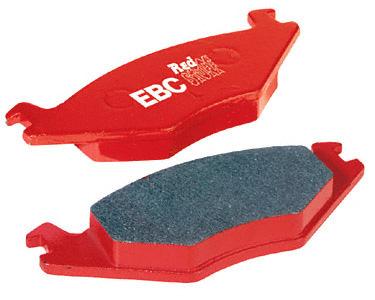 Dodge Viper 2003-2005 Front Set EBC Redstuff Brake Pads