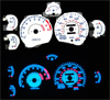 1997 Mitsubishi 3000GT  Non Turbo Reverse Glow Gauges