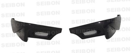 Subaru WRX STI 2006-2007 Ts Style Carbon Fiber Rear Lip