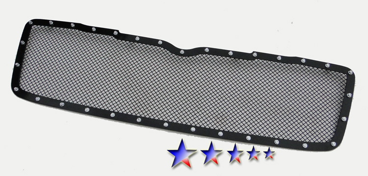 Chrysler Aspen  2007-2009 Black Powder Coated Main Upper Rivet Grille