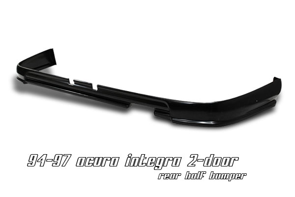 Acura Integra 1994-1997  Rear Half Bumper Bumper Lip