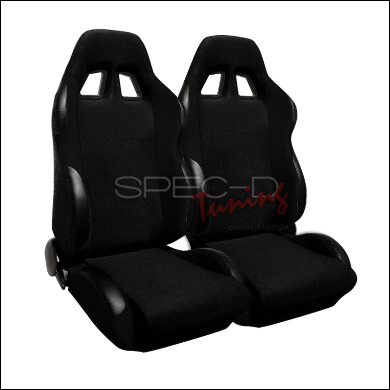 Bride Style Racing Seats Black (Pair)