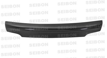 Bmw 3 Series 2dr 2007-2009 Csl Style Carbon Fiber Rear Spoiler