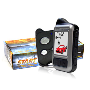 Crimestopper RS7 -  2 Way Remote Car Starter with Keyless Entry with Color LCD Pager