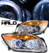 Scion Tc 2005-2007  Chrome/amber W/ Halo Projector Headlights