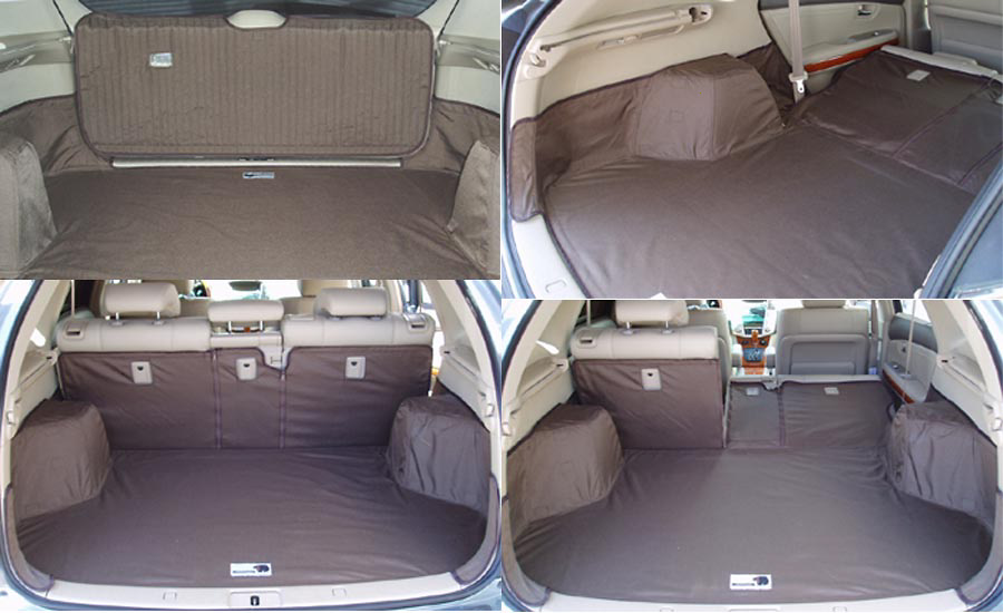 Lexus RX330 04-05 Cargo Liner, models w/ Liftgate, 60/40 2nd Row Bench, 3rd Row Bench