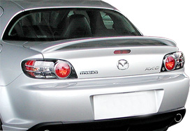Mazda Rx8   2004-2008 Factory Style Rear Spoiler - Painted