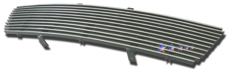 Saturn Vue  2006-2007 Polished Lower Bumper Aluminum Billet Grille