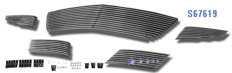 Saturn Sky  2007-2009 Polished Lower Bumper Aluminum Billet Grille