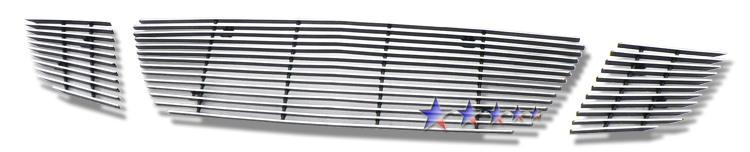 Saturn Sky Red Line 2007-2009 Polished Lower Bumper Aluminum Billet Grille