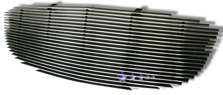 Buick Lucerne  2006-2010 Polished Main Upper Aluminum Billet Grille