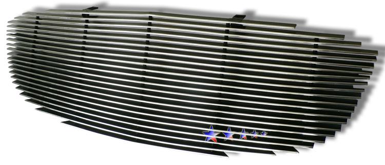 Buick Lucerne  2006-2010 Polished Main Upper Aluminum Billet Grille