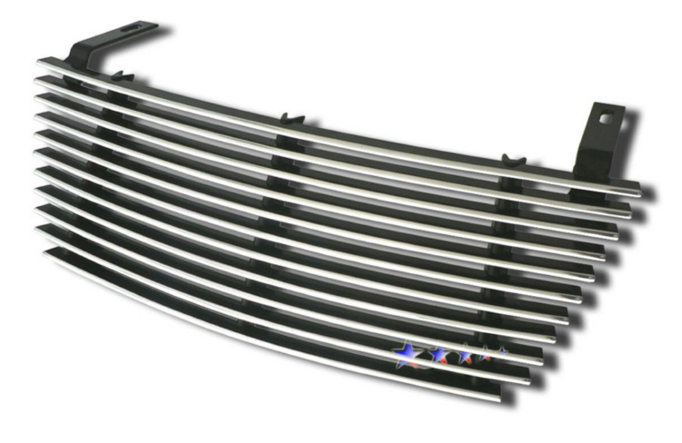 Saturn Vue  2006-2007 Polished Main Upper Aluminum Billet Grille