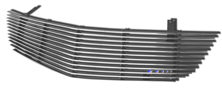 Saturn Aura  2007-2009 Polished Main Upper Aluminum Billet Grille
