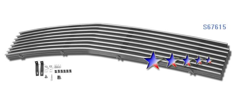 Saturn Aura  2007-2009 Polished Lower Bumper Stainless Steel Billet Grille