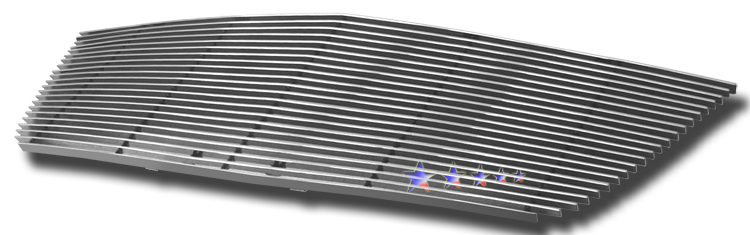 Saturn Outlook  2007-2009 Polished Main Upper Aluminum Billet Grille