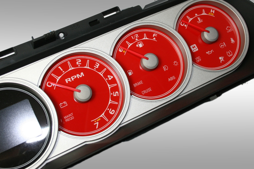 Scion Xb 2008-2009  Red / Amber Night Performance Dash Gauges