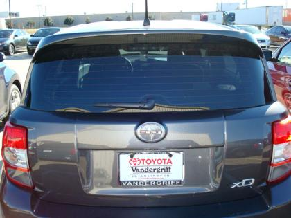 Scion Xd   2008-2010 Factory Style Rear Spoiler - Primed