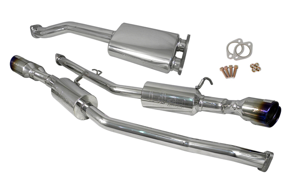 Hyundai Genesis 2010-2013 Coupe 2.0t 4 Cyl. Turbo - Injen Stainless Steel 60mm Cat-Back Exhaust System W/ 4