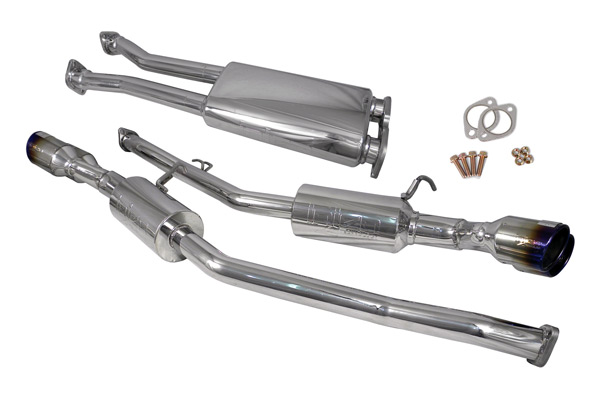 "Hyundai Genesis 2010-2013 Coupe 3.8l V6 - Injen Stainless Steel 60mm Cat-Back Exhaust System W/ 4"" Quad Titanium Tips"