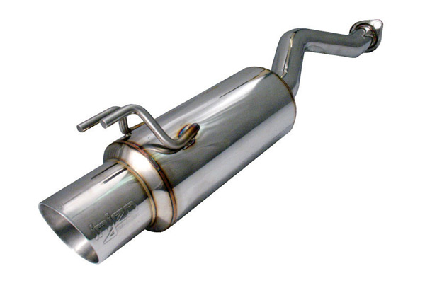 "Honda Civic 2006-2011 Si Coupe & Sedan  - Injen Stainless Steel  Axle-Back Exhaust System W/ 4"" S.S. Tip"