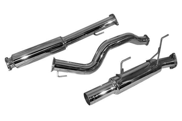 "Nissan Juke 2011-2012 (fwd Only) 1.6l Turbo - Injen Stainless Steel 3"" Cat-Back Exhaust System W/ S.S. Tip"