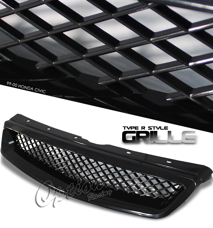 Honda Civic 1999-2000  Type-R Style Front Grill