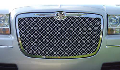 Chrysler 300 2005-2007 Chrome Front Mesh Grill