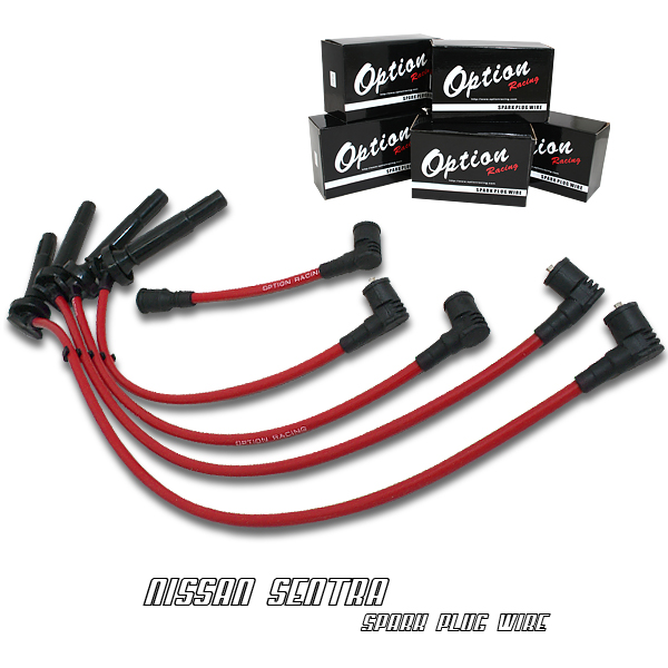 Nissan Sentra 1995-1999  Red Spark Plug Wires