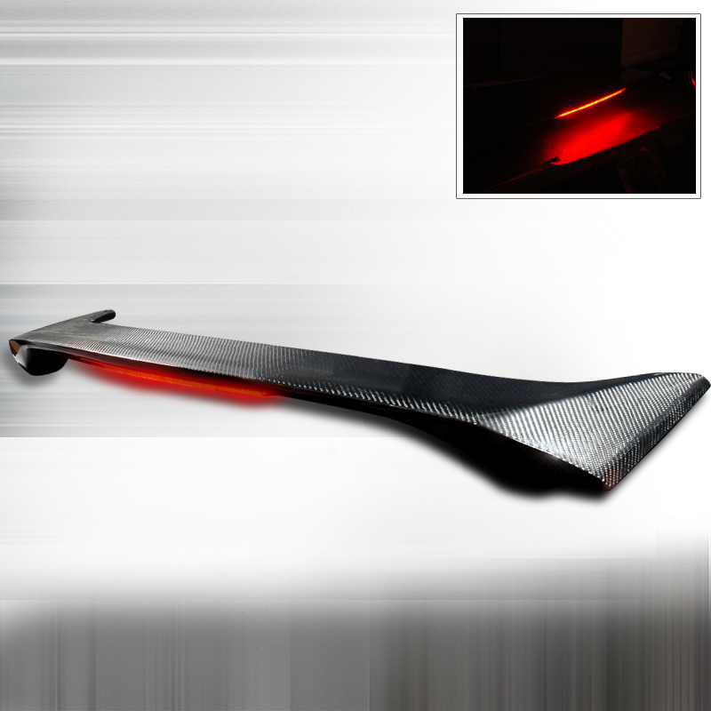 Honda Civic 2006-2009 Oe Style Carbon Fiber Rear Spoiler