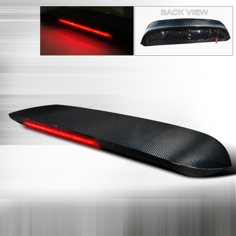 Honda Civic 1996-2000 Spoon Style Carbon Fiber Rear Spoiler