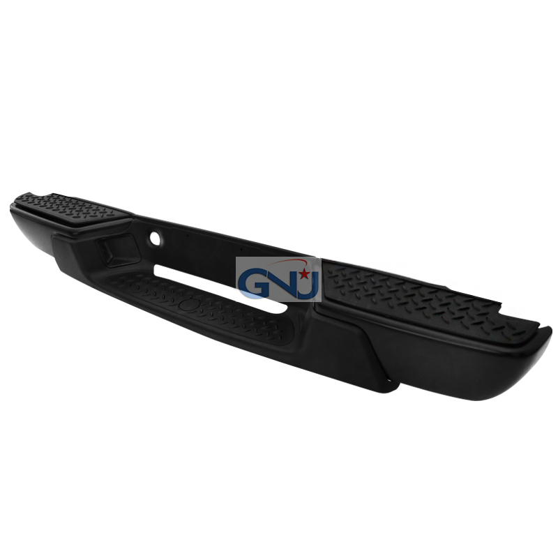 Chevrolet Colorado 2004-2007   - Black Rear Step Bumper