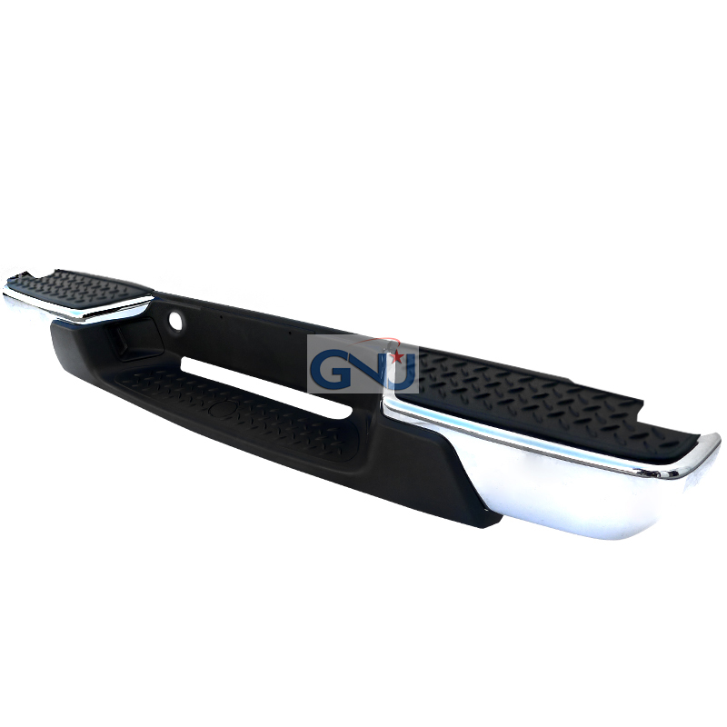 Chevrolet Colorado 2008-2011   - Chrome Rear Step Bumper