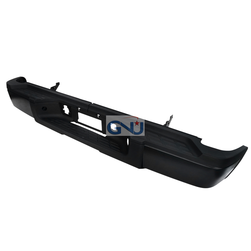 Chevrolet Silverado 2011-2013   - Black Rear Step Bumper W/O Backup Sensor