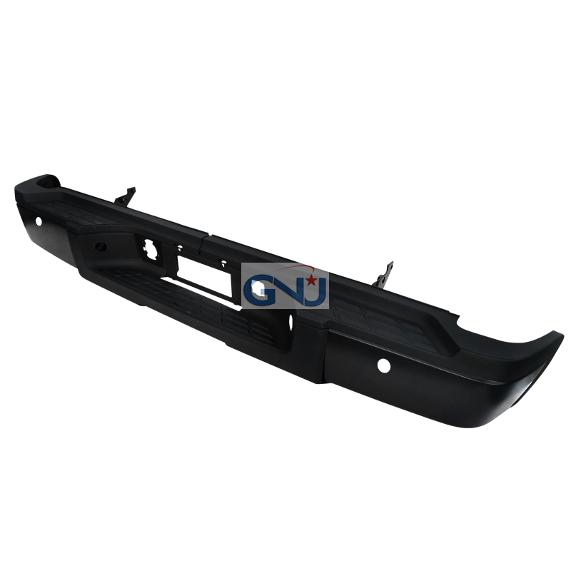 Chevrolet Silverado 2011-2013   - Black Rear Step Bumper W/Backup Sensor