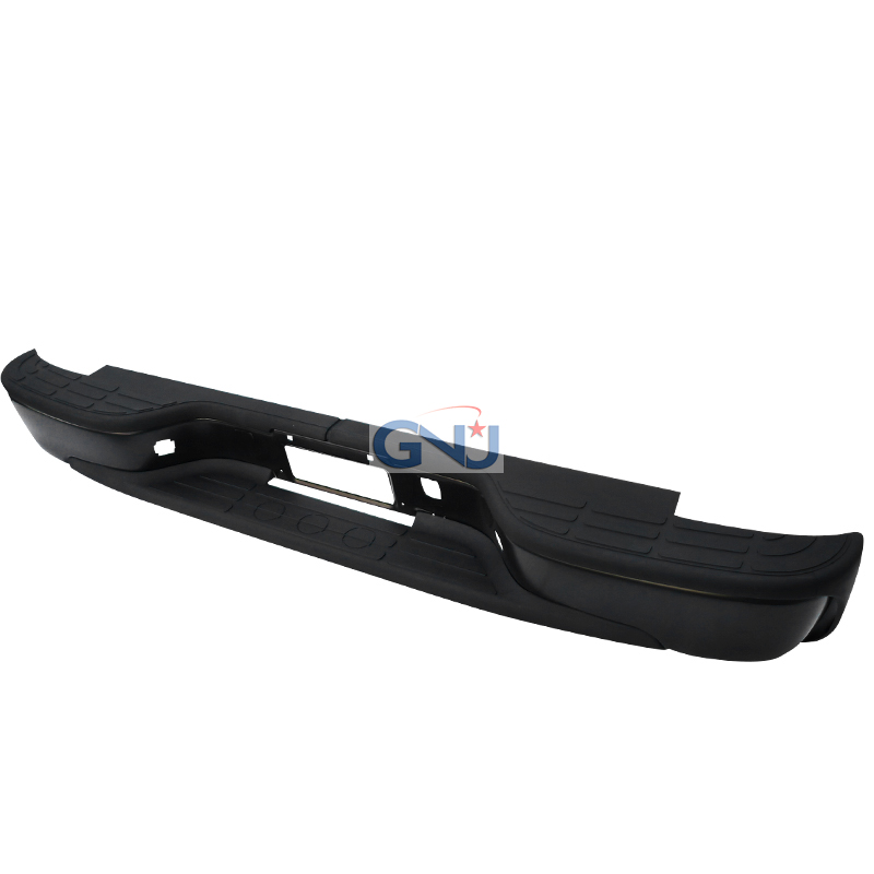 Chevrolet Silverado 1999-2006  Step Side - Black Rear Step Bumper