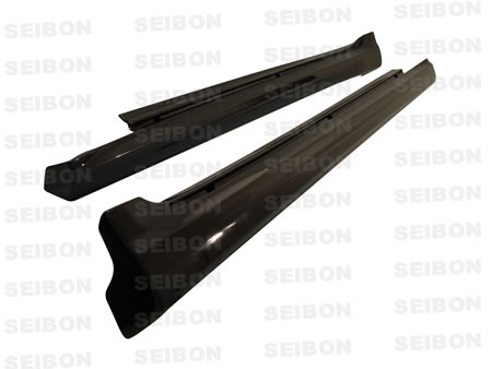 Lexus IS250  2006-2009 Ts Style Carbon Fiber Side Skirts