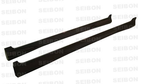 Honda Honda Fit  2007-2008 Mg Style Carbon Fiber Side Skirts