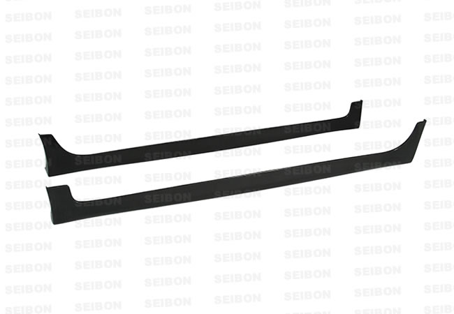 Toyota Yaris Liftback 2007-2008 SS Style Carbon Fiber Side Skirts