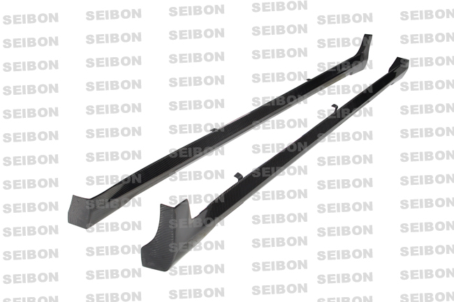 Infiniti G37 4dr 2008-2009 Ns Style Carbon Fiber Side Skirts