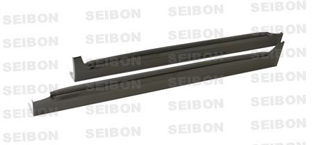 Subaru WRX STI Model Only 2008-2010 OEM Style Carbon Fiber Side Skirts
