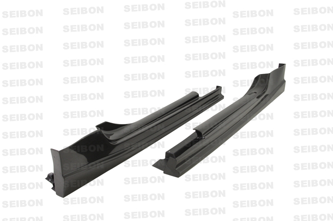 Nissan 370z  2009-2010 Ns Style Carbon Fiber Side Skirts