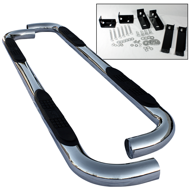 Chevrolet Tahoe 2000-2010 Regular Cab  Stainless  Step Bars