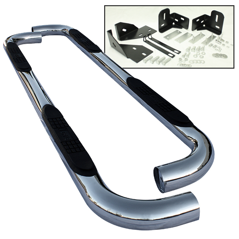 Jeep Grand Cherokee 2005-2010  4dr Stainless  Step Bars