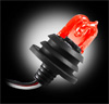 RED 90-Watt Strobe Light Bulb