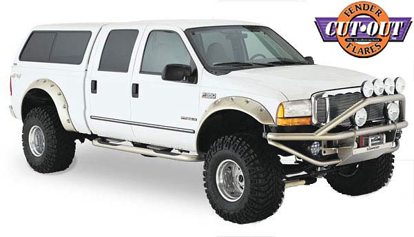 Ford Super Duty 99-04 Cut-Out Fender Flares