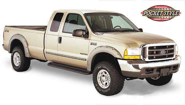 Ford Super Duty 99-04 Pocket Style Fender Flares