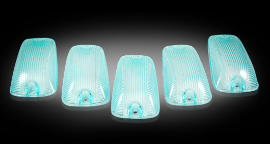 Chevrolet Silverado 1988-2002 Superwhite LED Cab Lights (5 Piece set)